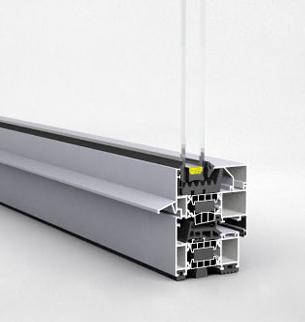 Système d'ouverture avec pont thermique Lorex Е75